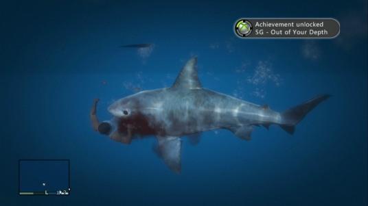 Es más fácil ser devorado por un tiburón blanco, que escapar de Los Santos.